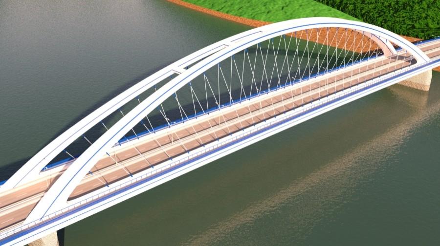 arched bridge 3d model 3ds max 148662