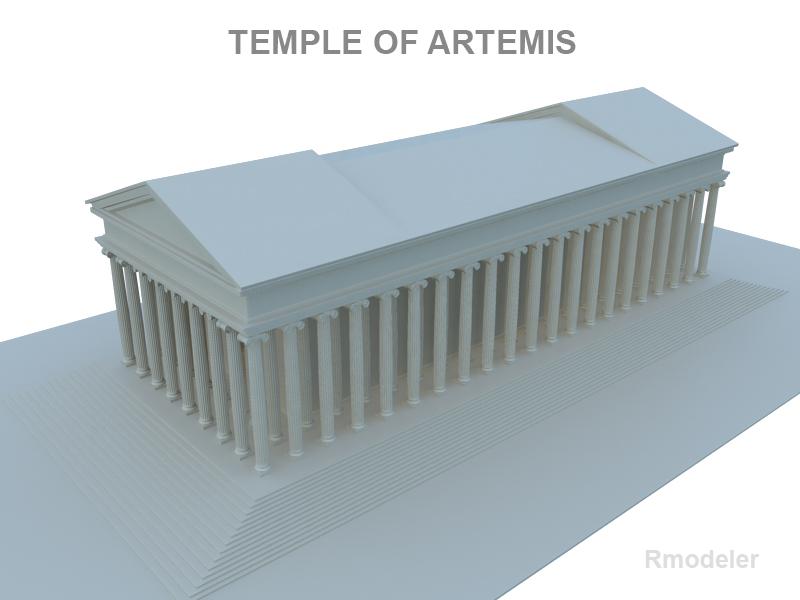 artemis ариун сүм 3d загвар 119376 fbx ma mb obj