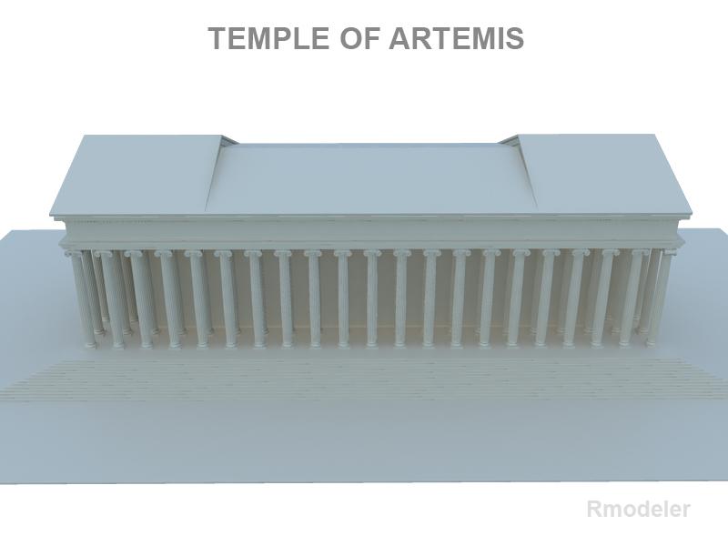 artemis ариун сүм 3d загвар 119377 fbx ma mb obj