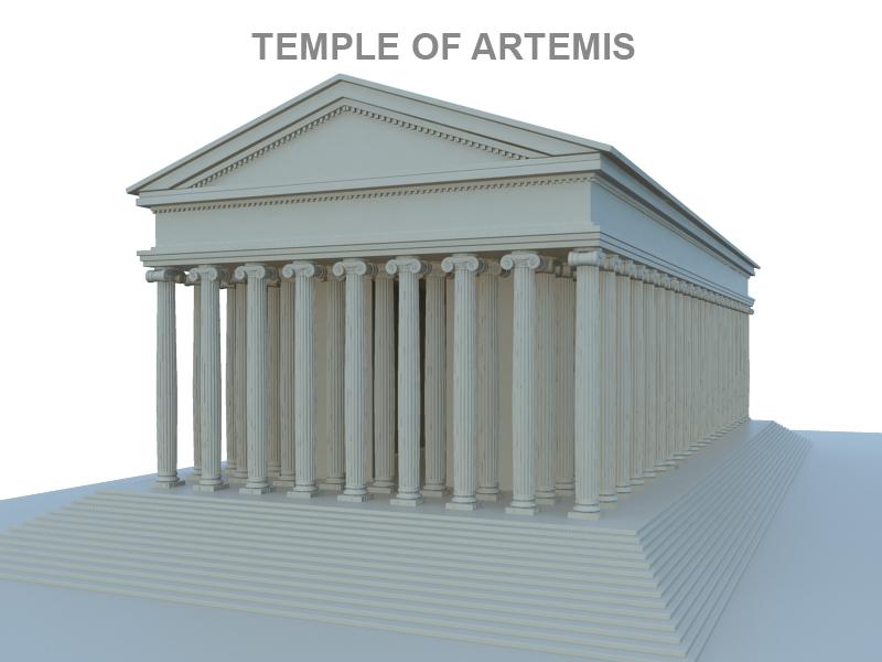 artemis ариун сүм 3d загвар 119378 fbx ma mb obj