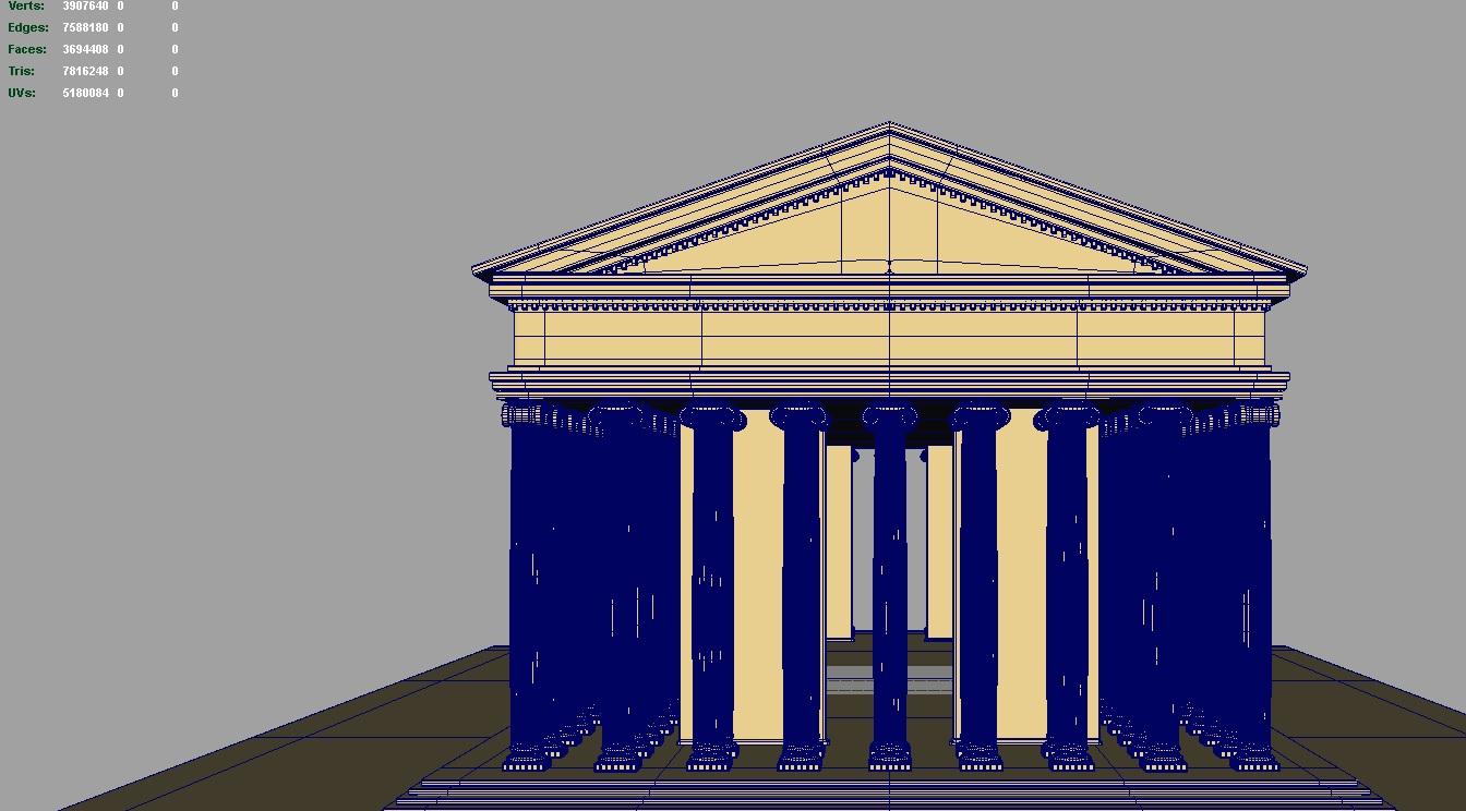 artemis ариун сүм 3d загвар 119379 fbx ma mb obj