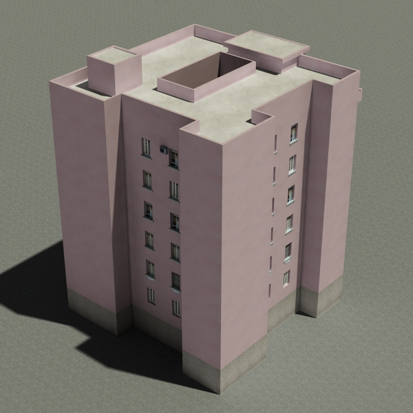 building 86 3d model 3ds max fbx texture obj 157314
