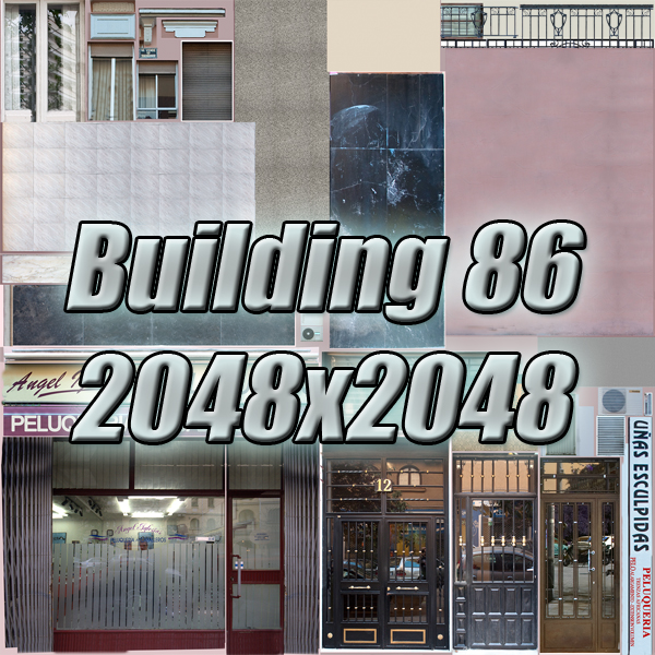 building 86 3d model 3ds max fbx texture obj 157323