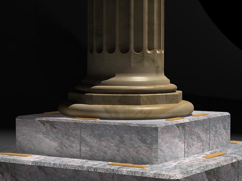 classic marble column 3d model max 141982