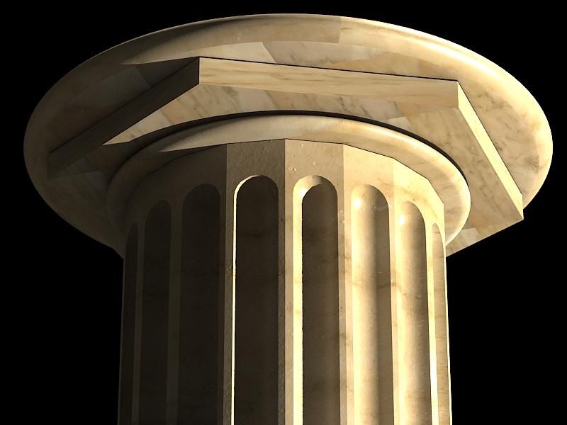 classic marble column 3d model max 141984