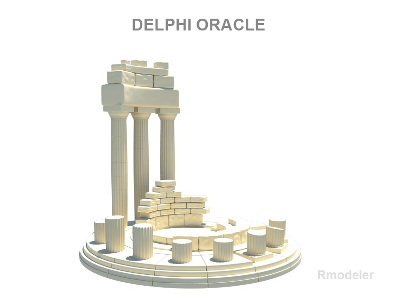 delphi oracle 3d model 3ds fbx c4d lwo ma mb hrc xsi obj 119207