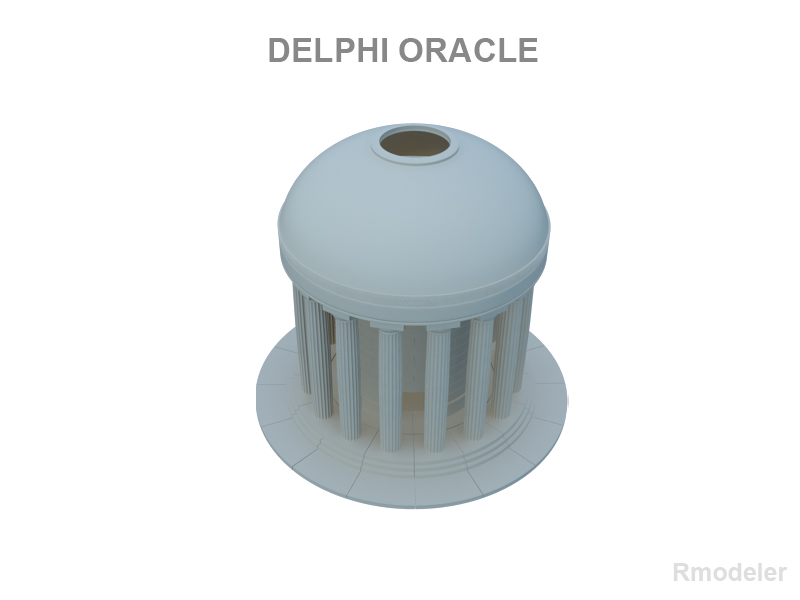 delphi oracle v2 3d múnla 3ds fbx c4d le hrc xsi obj 121012