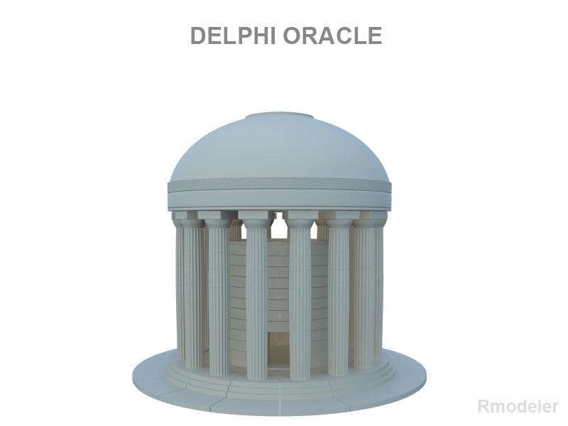 Delphi Oracle v2 3d model 3ds fbx c4d lwo lws lw ma mb  obj 121011