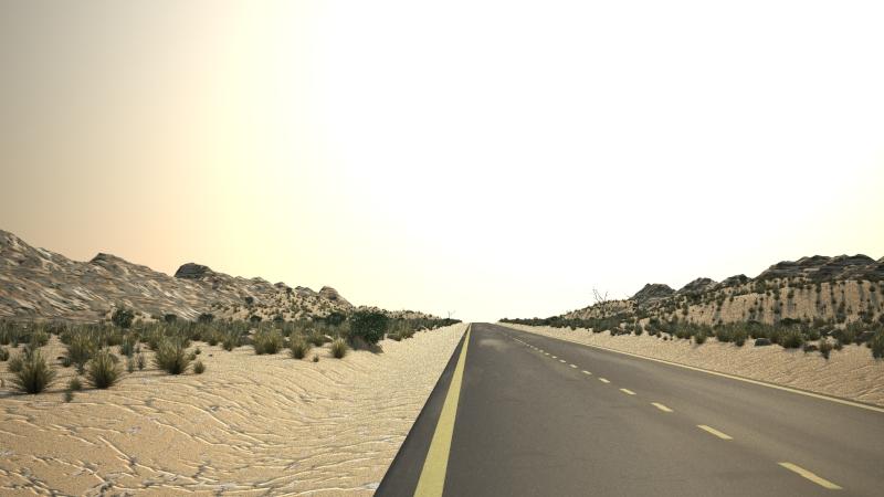 desert road 3d model max 159932