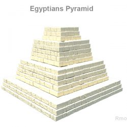 Egyptians pyramid ( 169.9KB jpg by rmodeler )