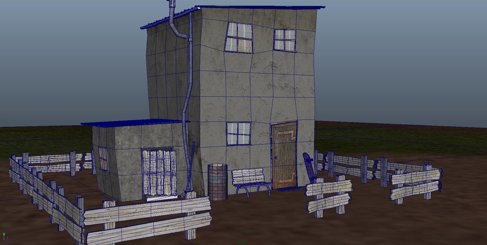 masia 3d model ma mb 153227