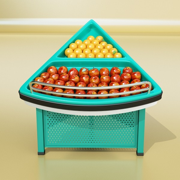 fruit stand store display 3d model 3ds max fbx obj 134154