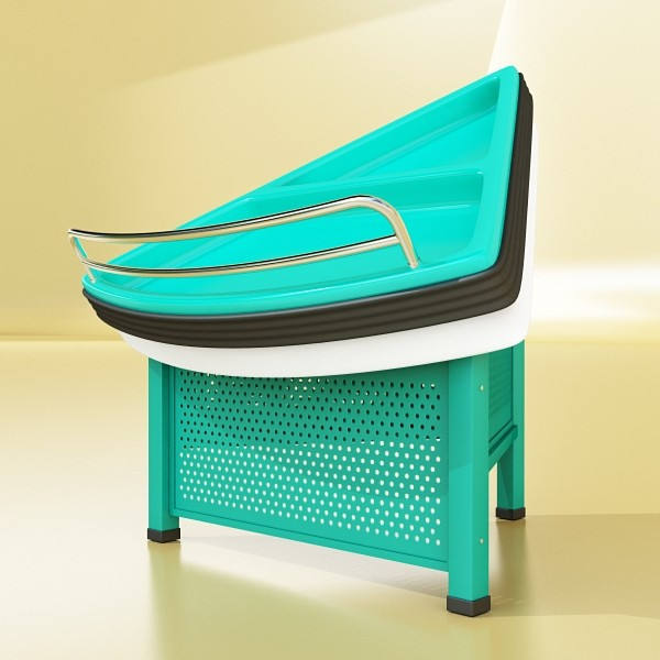 fruit stand store display smoothable. 3d model 3ds max fbx obj 134125