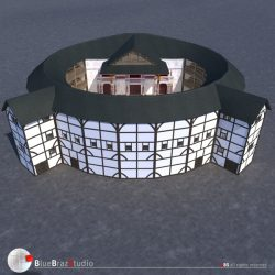 Globe Theatre ( 280.34KB jpg by braz )