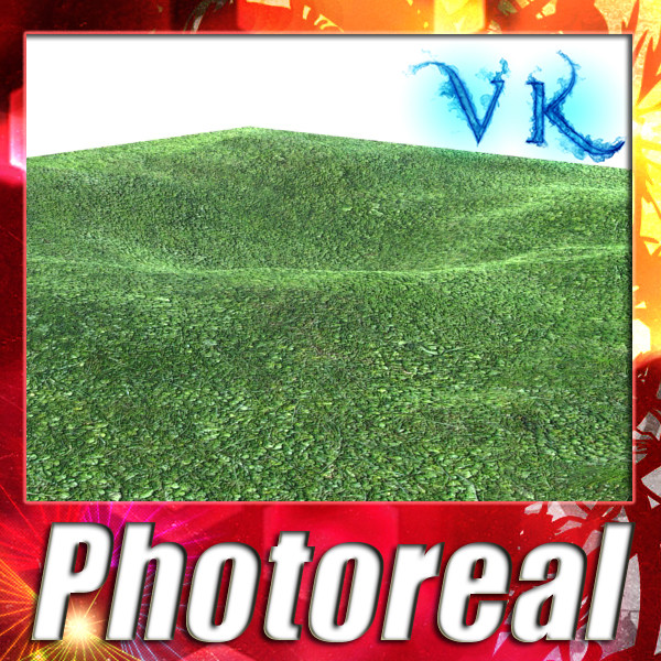 grass high res seamless tileable 3d model 3ds max fbx obj 129929