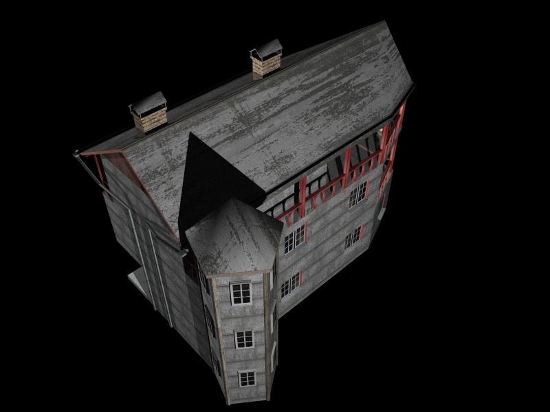 Fully Textured LowPoly House 100 ( 145.78KB jpg by gorandodic )
