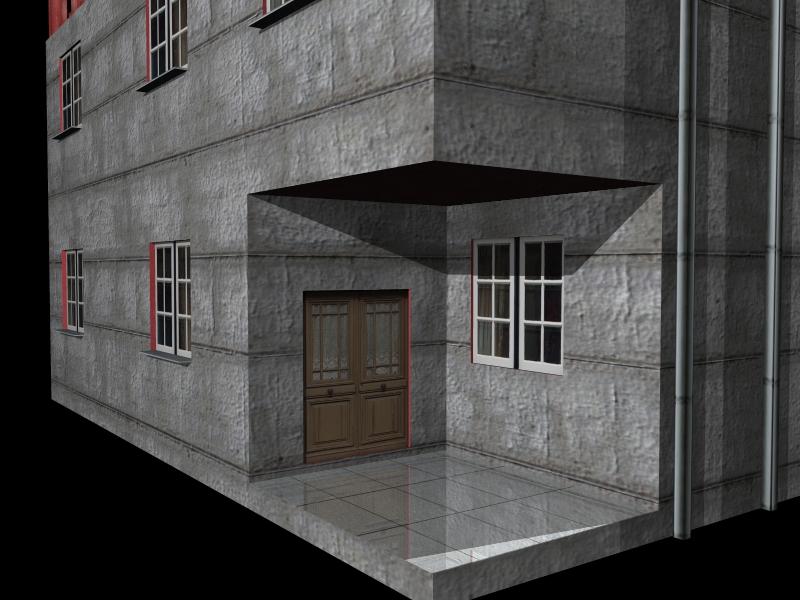 Fully Textured LowPoly House 100 ( 287.09KB jpg by gorandodic )