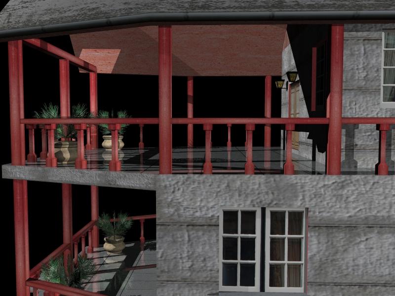 Fully Textured LowPoly House 100 ( 314.22KB jpg by gorandodic )