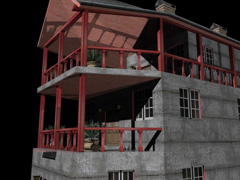 Fully Textured LowPoly House 100 ( 306.85KB jpg by gorandodic )