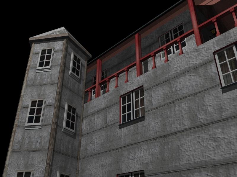 Fully Textured LowPoly House 100 ( 293.83KB jpg by gorandodic )
