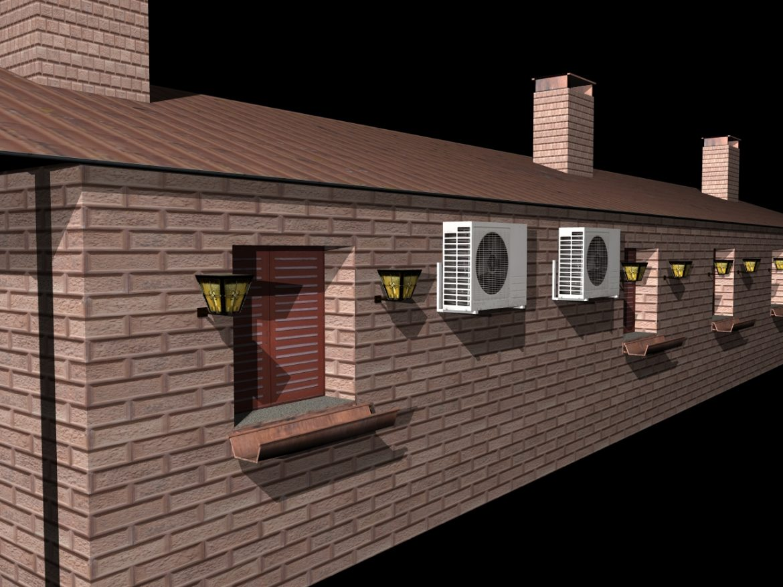Fully Textured House Ranch Style 101 ( 773.42KB jpg by gorandodic )