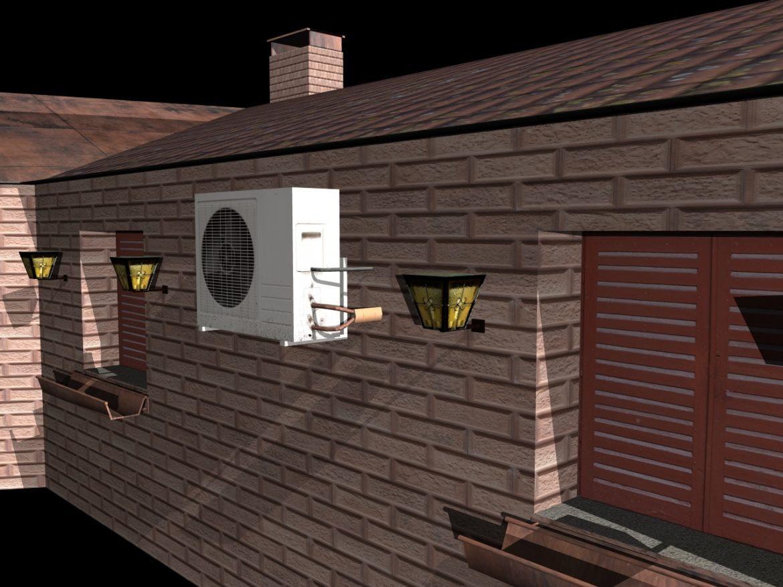 Fully Textured House Ranch Style 101 ( 811.92KB jpg by gorandodic )