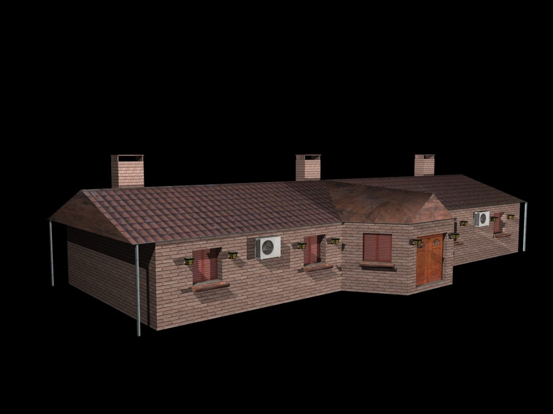 Fully Textured House Ranch Style 101 ( 297.7KB jpg by gorandodic )