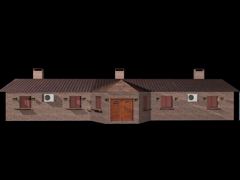 Fully Textured House Ranch Style 101 ( 283.41KB jpg by gorandodic )