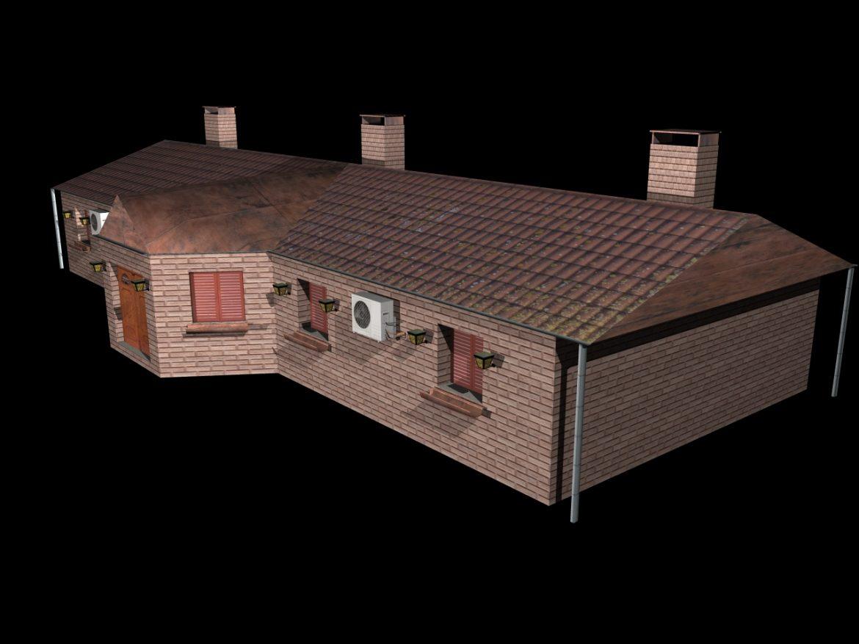 Fully Textured House Ranch Style 101 ( 423.55KB jpg by gorandodic )