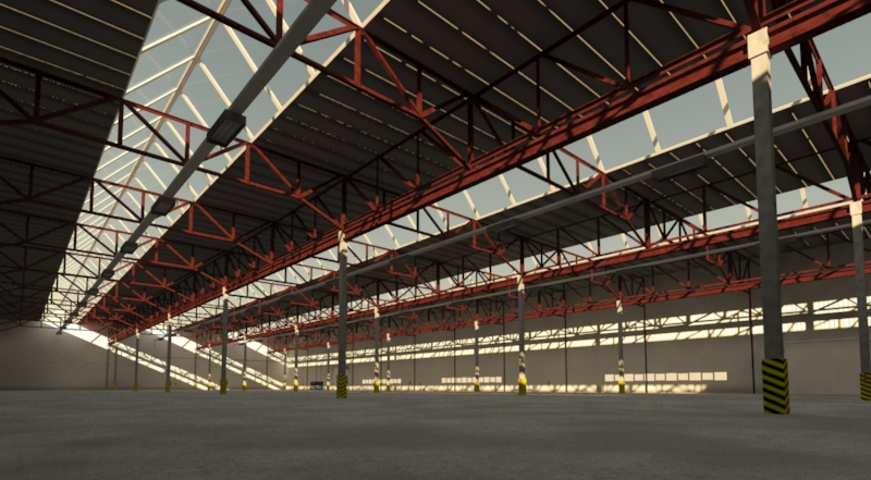 industrial building 3d model 3ds max fbx obj 157749