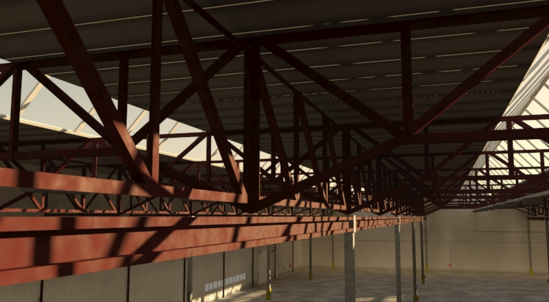 industrial building 3d model 3ds max fbx obj 157757
