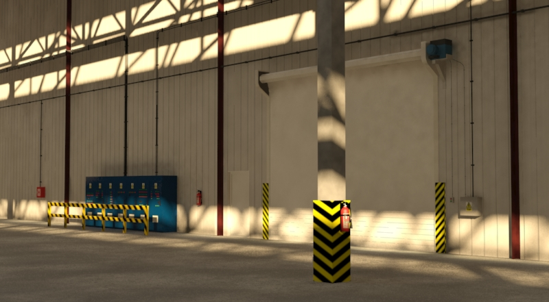 industrial building 3d model 3ds max fbx obj 157758