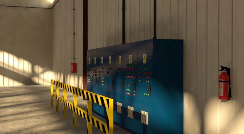 industrial building 3d model 3ds max fbx obj 157760