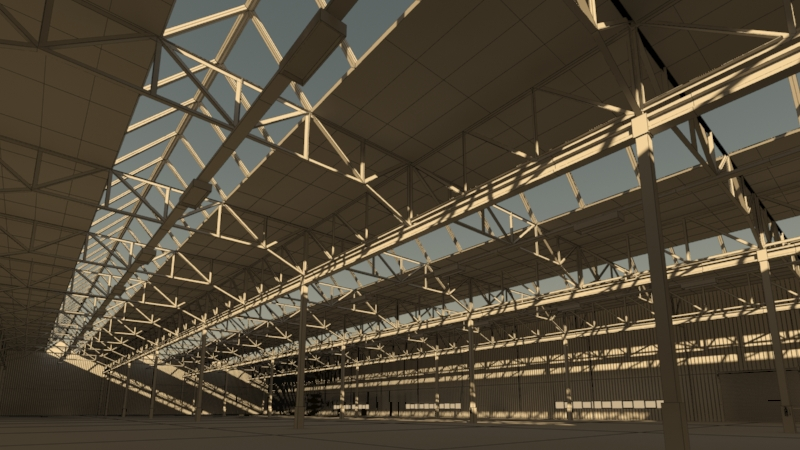 industrial building 3d model 3ds max fbx obj 157764