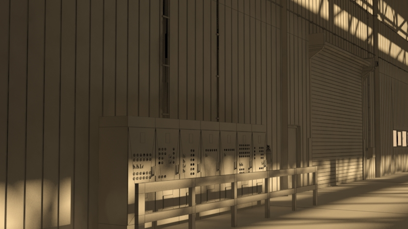 industrial building 3d model 3ds max fbx obj 157765