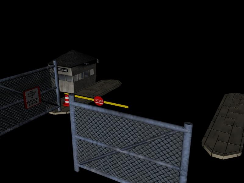 industrial buildings pack 3d model fbx 159335