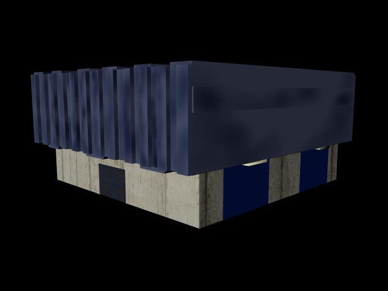 industrial buildings pack 3d model fbx 159337