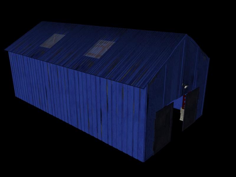 industrial buildings pack 3d model fbx 159338