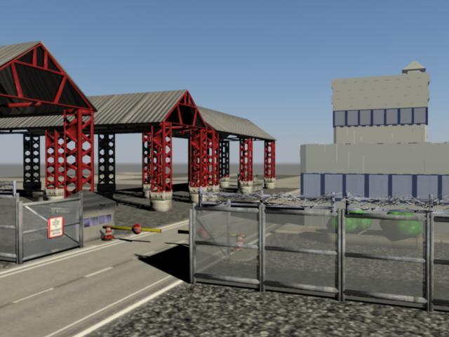 industrial buildings pack 3d model fbx 159339