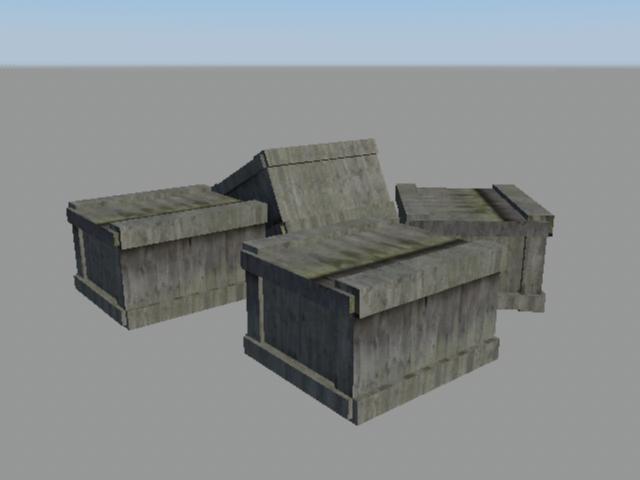 industrial kit pack 3d model obj 159321