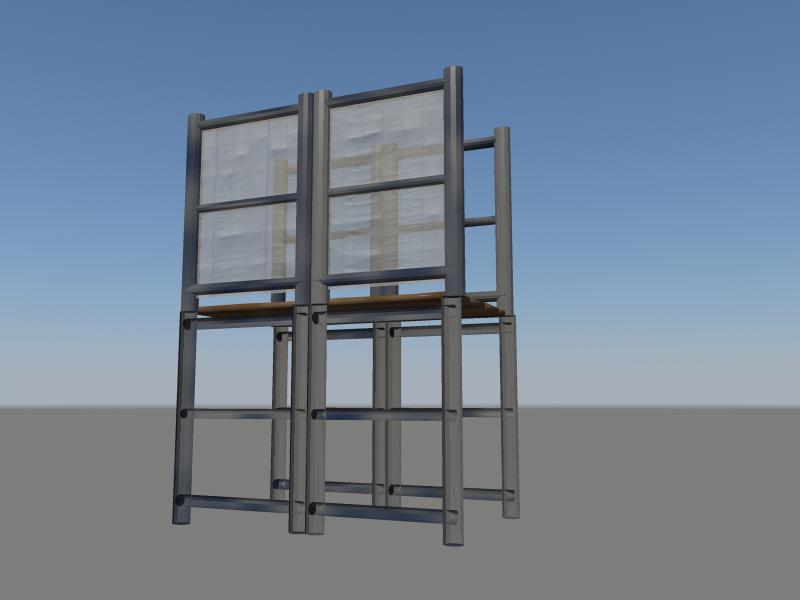 industrial kit pack 3d model obj 159327