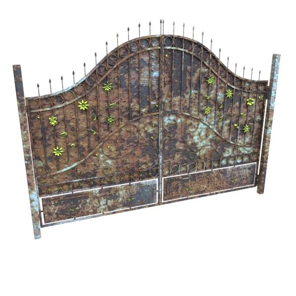 iron gate 02 3d model max fbx obj 131969