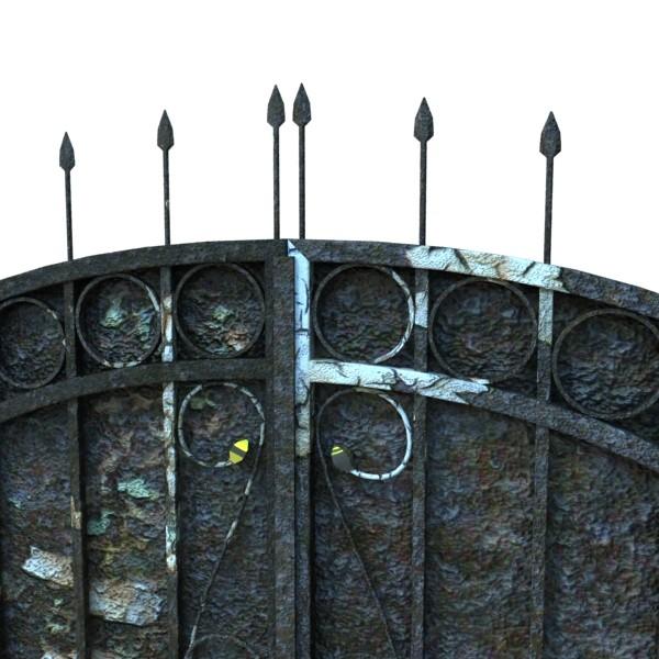 iron gate 02 3d model max fbx obj 131972