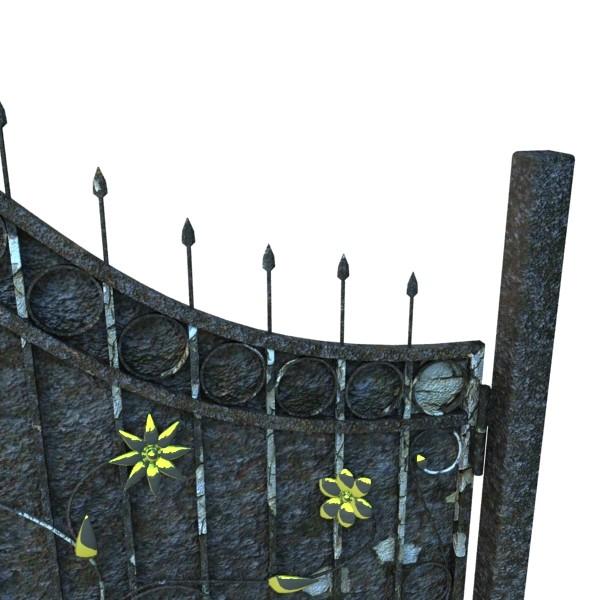 iron gate 02 3d model max fbx obj 131973
