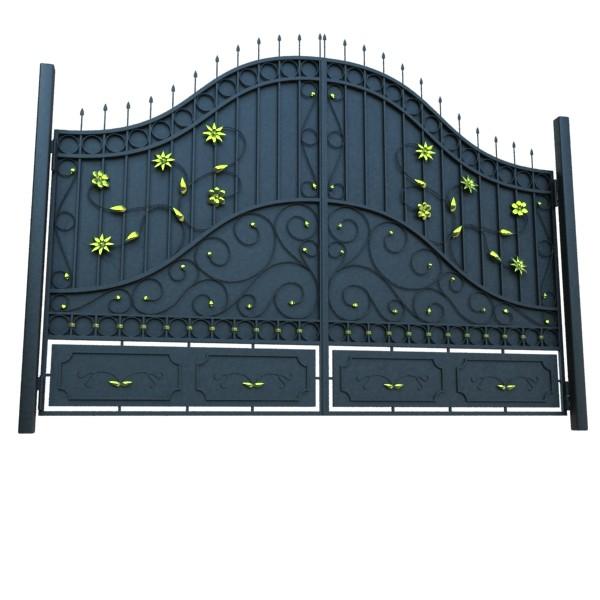 iron gate 02 3d model max fbx obj 131974