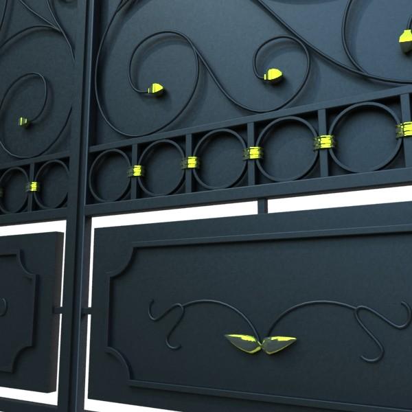 iron gate 02 3d model max fbx obj 131975