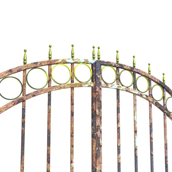 iron gate 03 3d model 3ds max fbx obj 131988