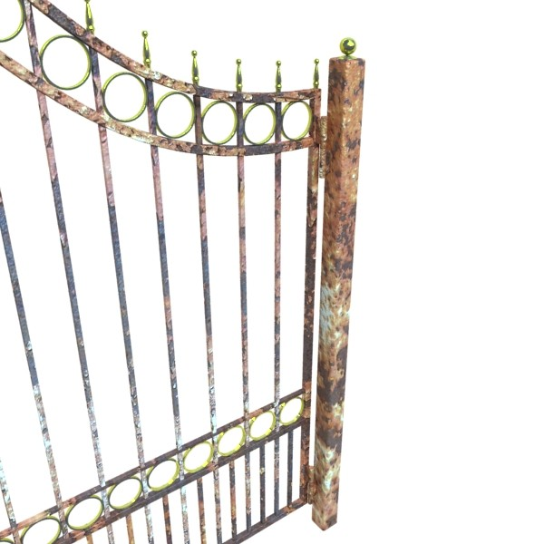 iron gate 03 3d model 3ds max fbx obj 131989