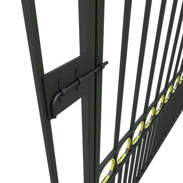 iron gate 03 3d model 3ds max fbx obj 131995