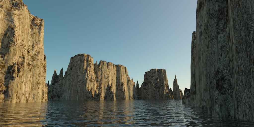 landscape – rocky islands 01 3d model 3ds max 141826